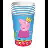 Росмэн  28554 Стакан 210мл, 6шт. Пеппа-Принцесса, тм Peppa Pig
