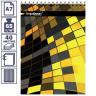 Inформат Блокнот А6 40л. кл. Illusion греб. мел. карт. 65г. м2